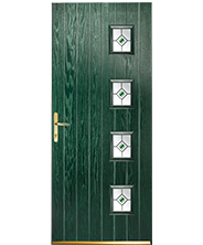 Dunster Green Fus Elip Style Door
