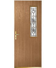 Huntly Oak Clarity Style Door