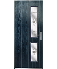 Lincoln Blue Finesse Style Door