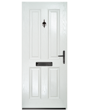 Balmoral Solid White Style Door